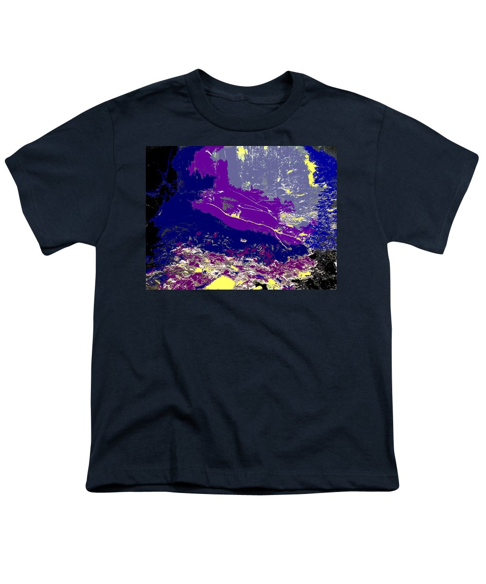 Rainforest Youth T-Shirt featuring the photograph Rainforest Shadows by Ian MacDonald