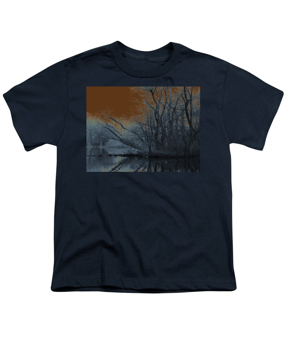 Solarization Youth T-Shirt featuring the photograph Solarization by Kendall Eutemey