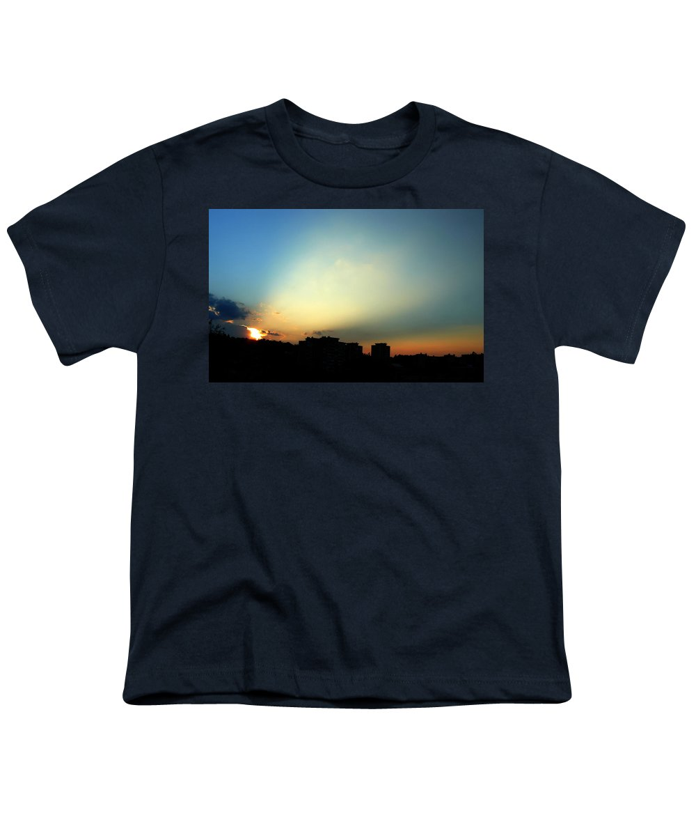 Nature Youth T-Shirt featuring the photograph Spotlight by Daniel Csoka