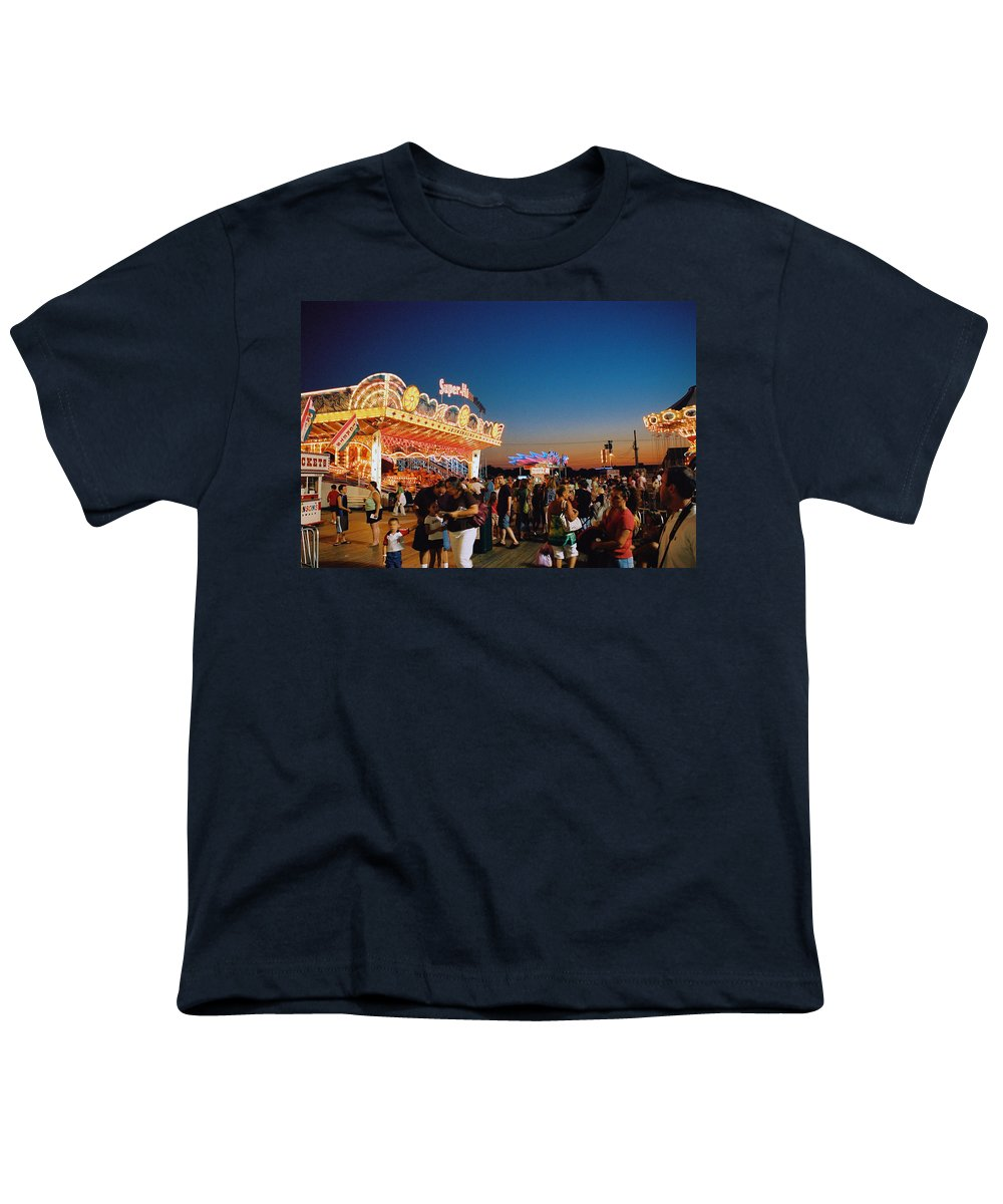 Board Walk Youth T-Shirt featuring the photograph Super Himalaya by Steve Karol