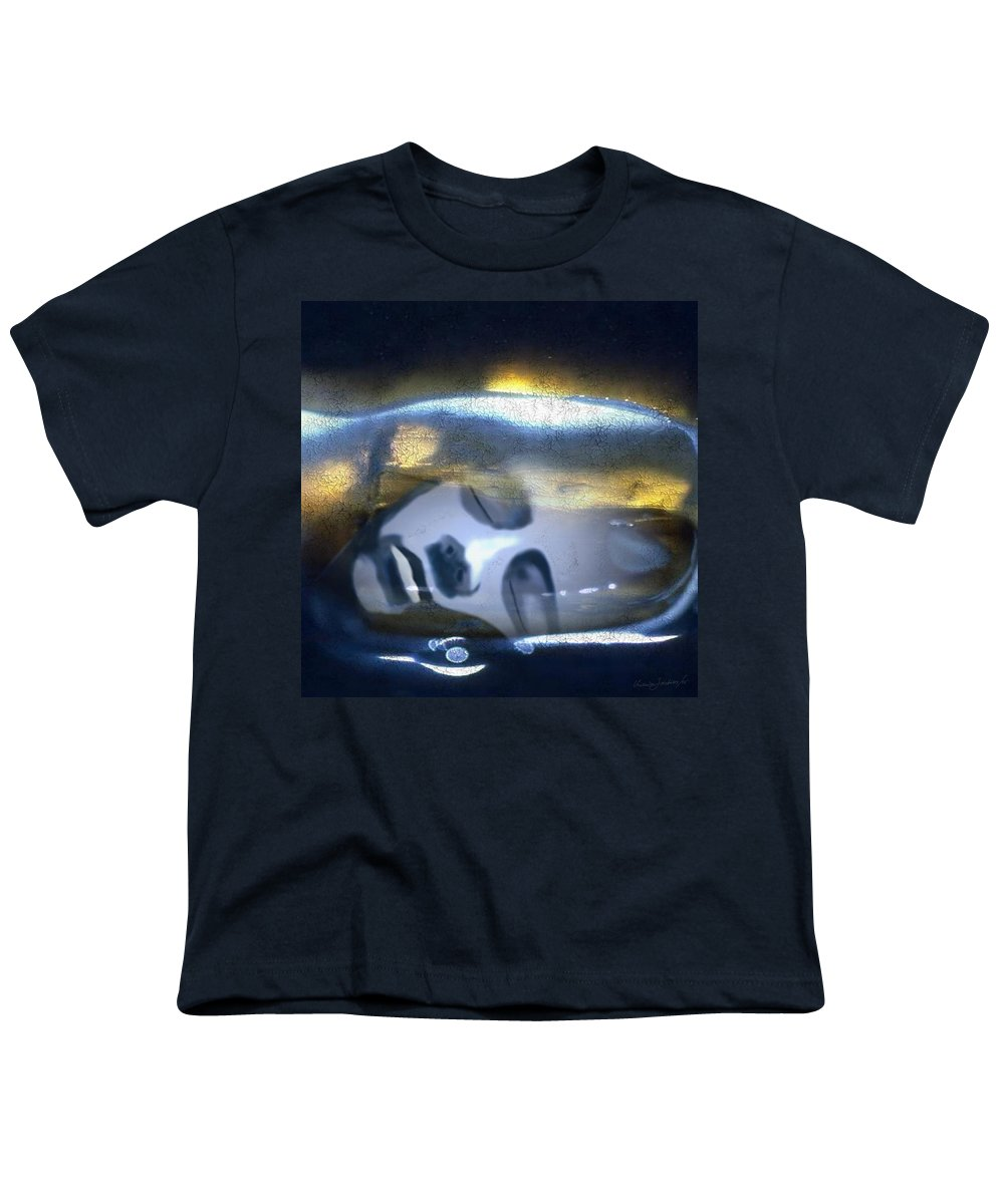 Dream Sky Universe Methaphysics Aura Afterlife Youth T-Shirt featuring the digital art The Dream by Veronica Jackson