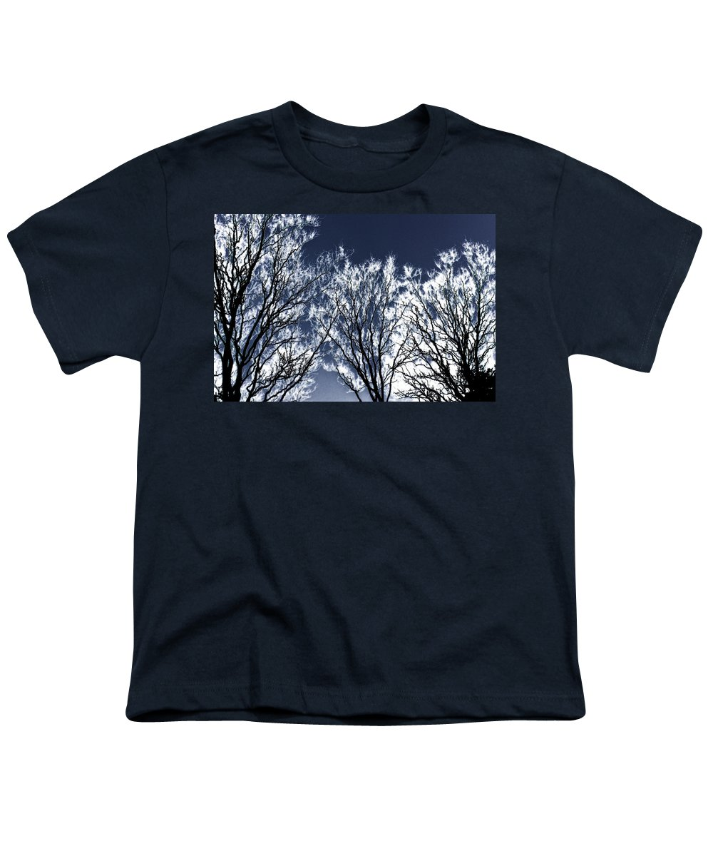 Scenic Youth T-Shirt featuring the photograph Tree Fantasy 2 by Lee Santa