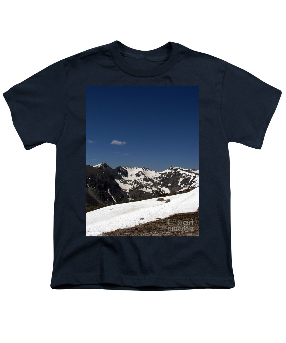 Colorado Youth T-Shirt featuring the photograph Vast Mother by Amanda Barcon