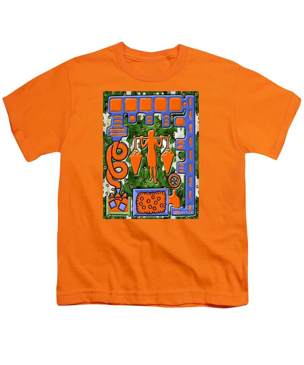 Food Youth T-Shirt featuring the painting Juice by Patrick J Murphy
