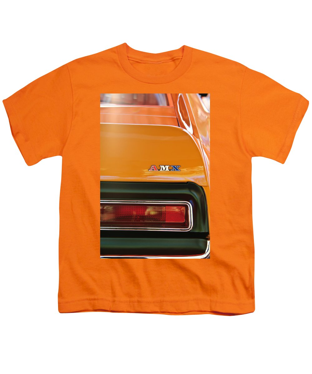 841f956f 1971 Amc Javelin Amx Taillight Emblem Youth T-Shirt for Sale by Jill Reger
