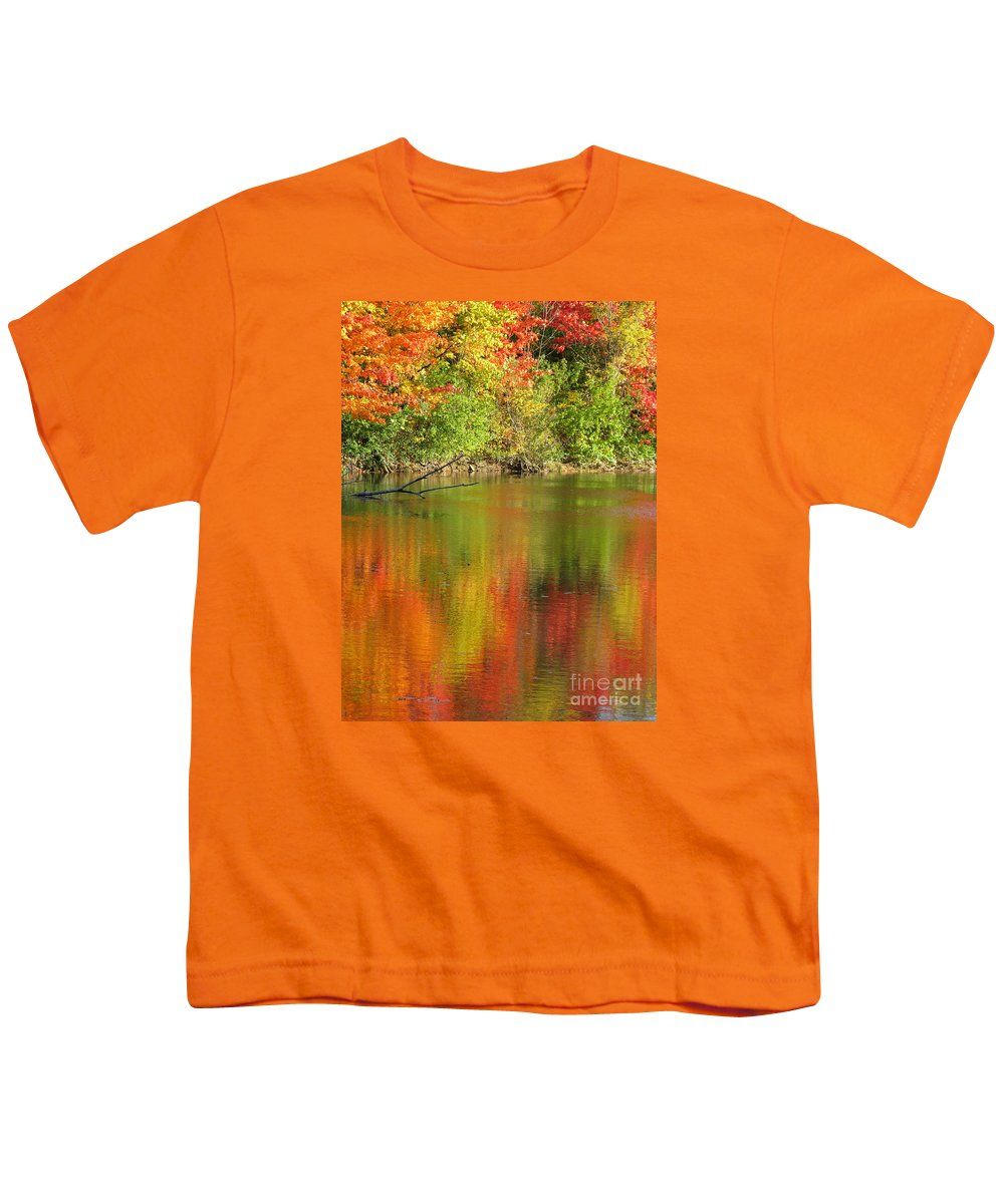 Autumn Youth T-Shirt featuring the photograph Autumn Iridescence by Ann Horn
