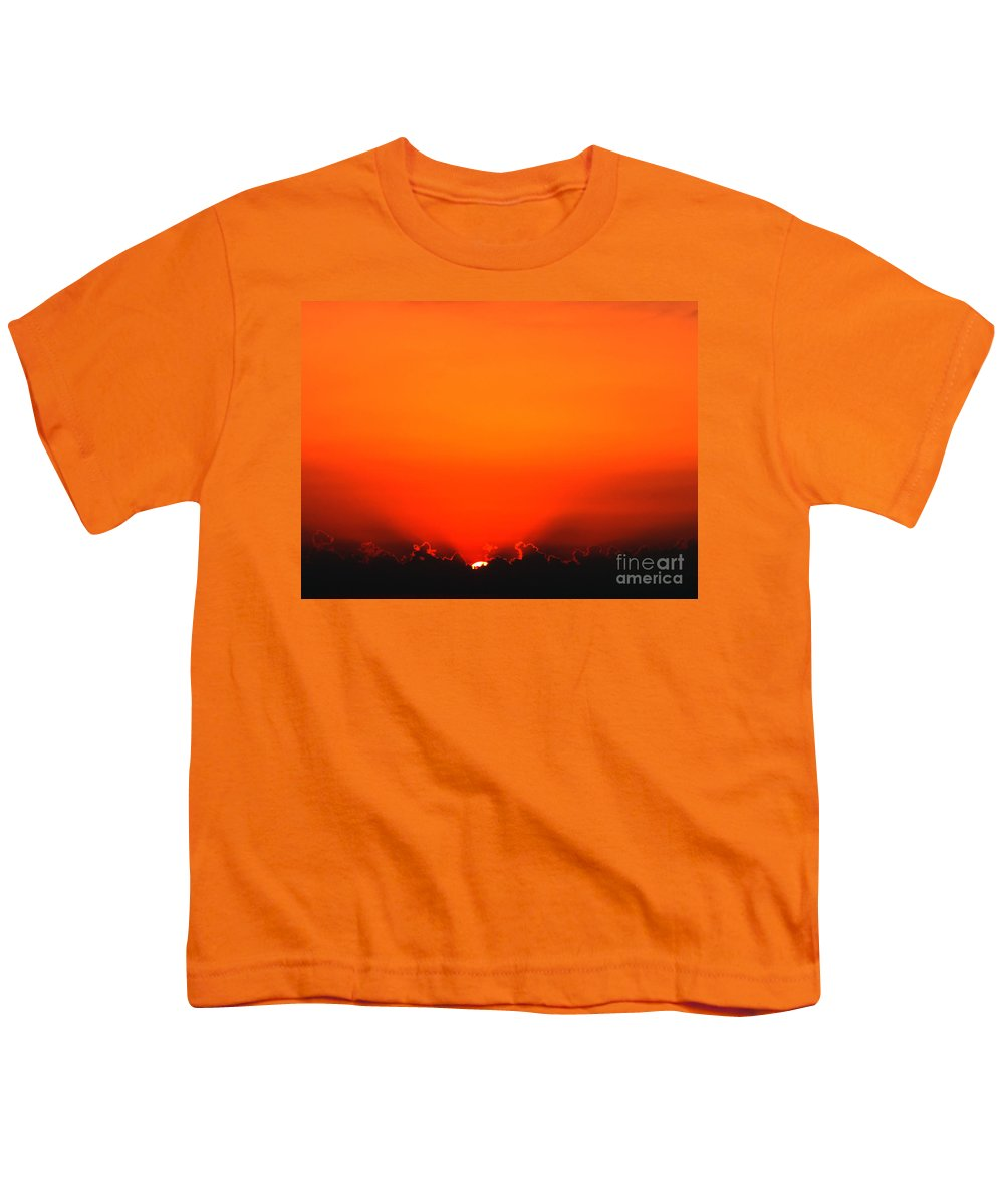 Sun Youth T-Shirt featuring the photograph A New Day by Amanda Barcon