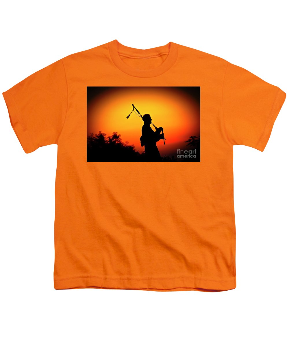 Sunset Youth T-Shirt featuring the photograph Amazing Grace by Jim Cazel