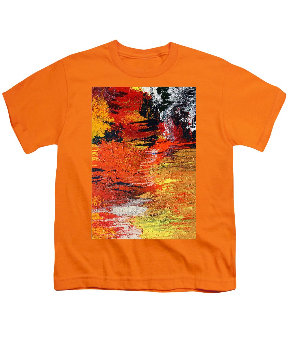 Fusionart Youth T-Shirt featuring the painting Chasm by Ralph White