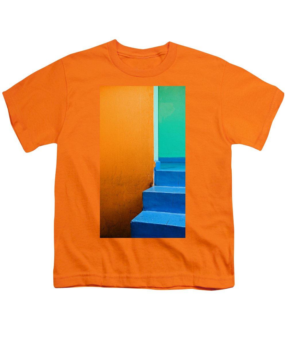 Oaxaca Youth T-Shirt featuring the photograph Creamsicle by Skip Hunt