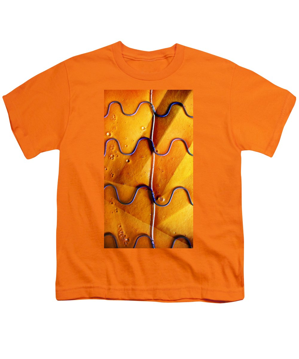 Skip Hunt Youth T-Shirt featuring the photograph Government Cheese by Skip Hunt