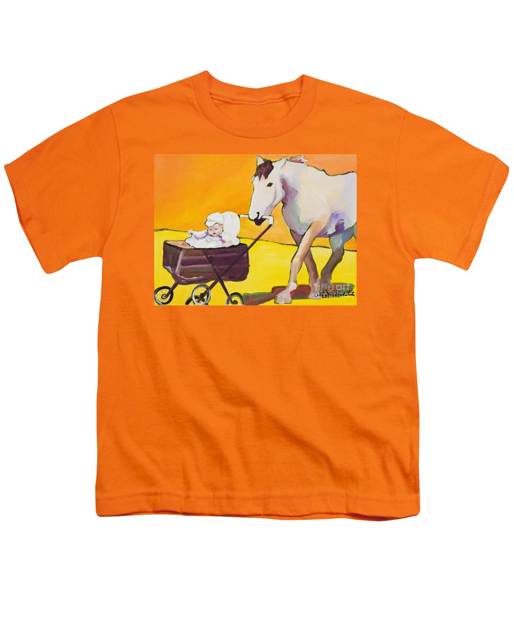 Animal Youth T-Shirt featuring the painting Jake by Pat Saunders-White
