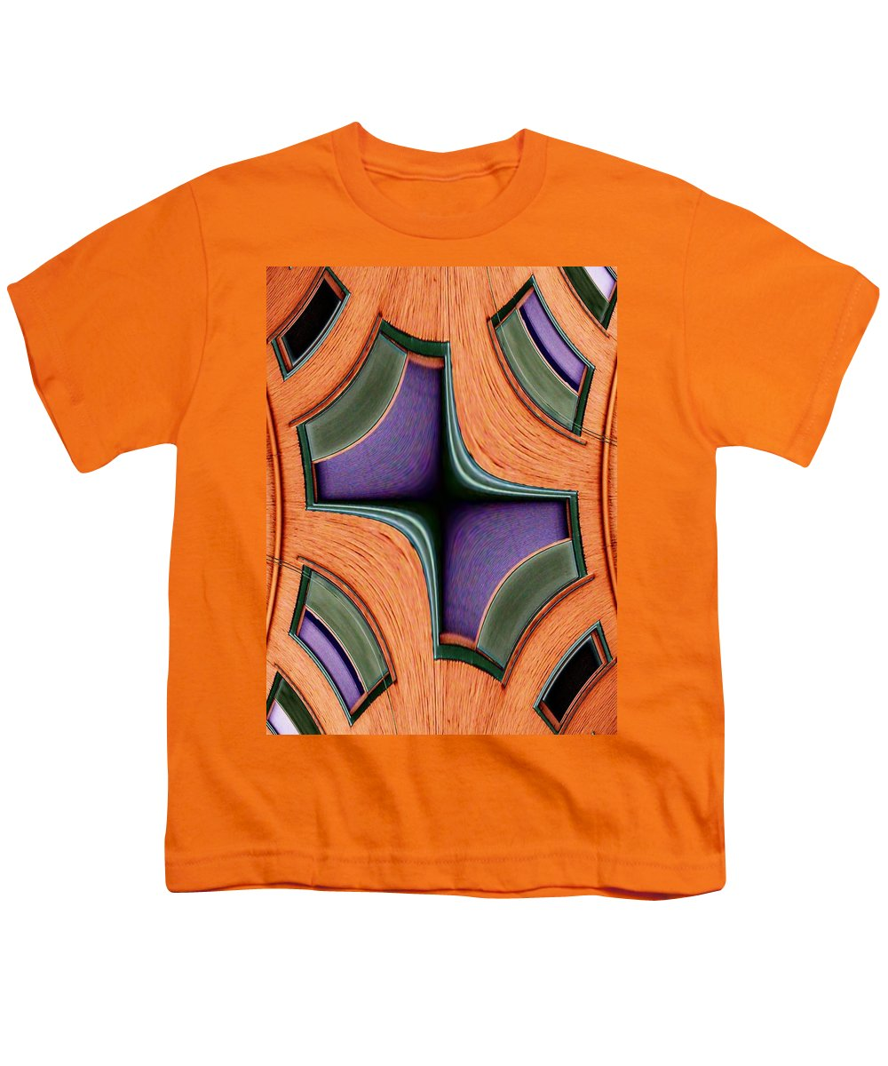 Windows Youth T-Shirt featuring the photograph Melded Windows by Tim Allen