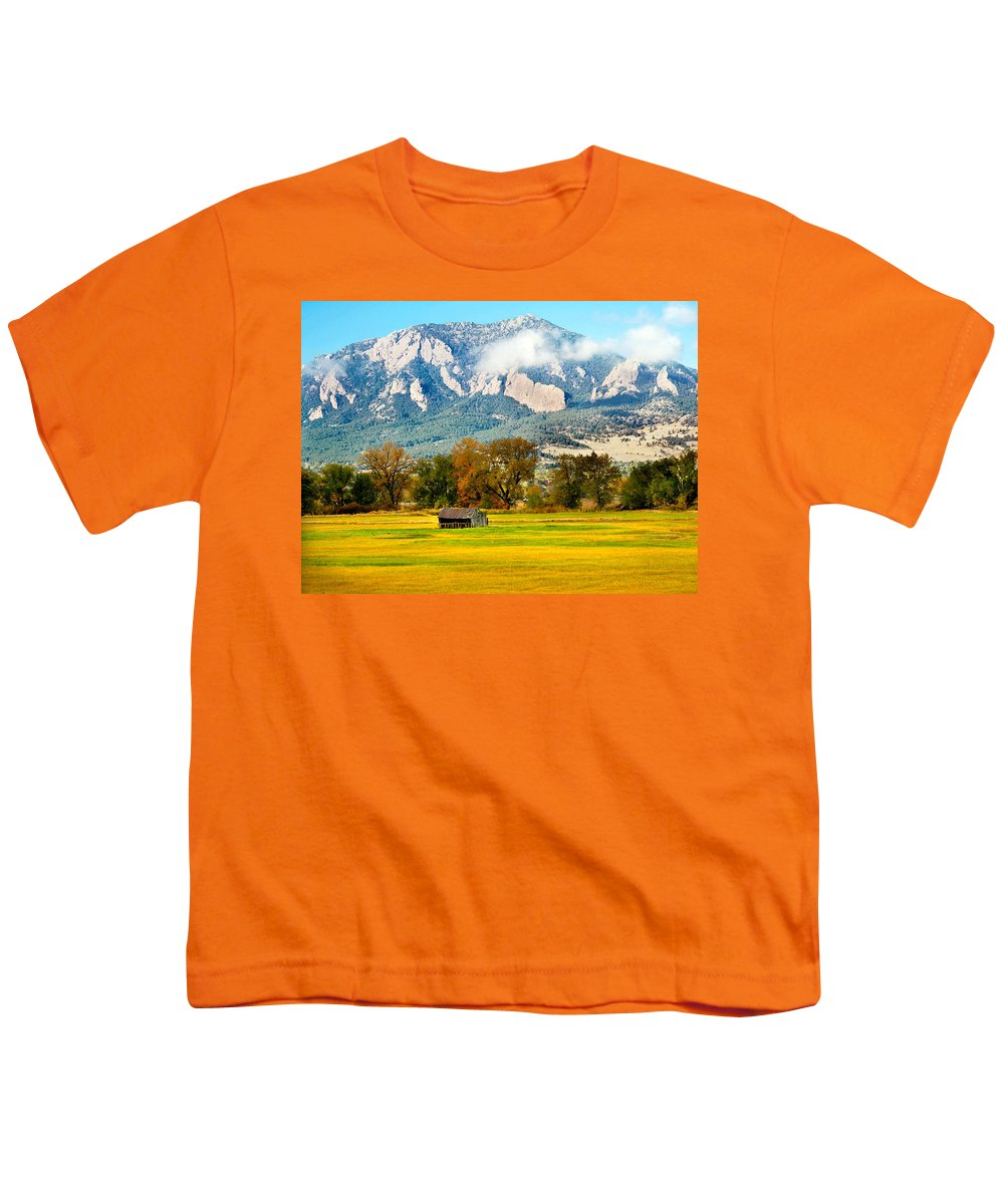 Rural Youth T-Shirt featuring the photograph Old Shed by Marilyn Hunt