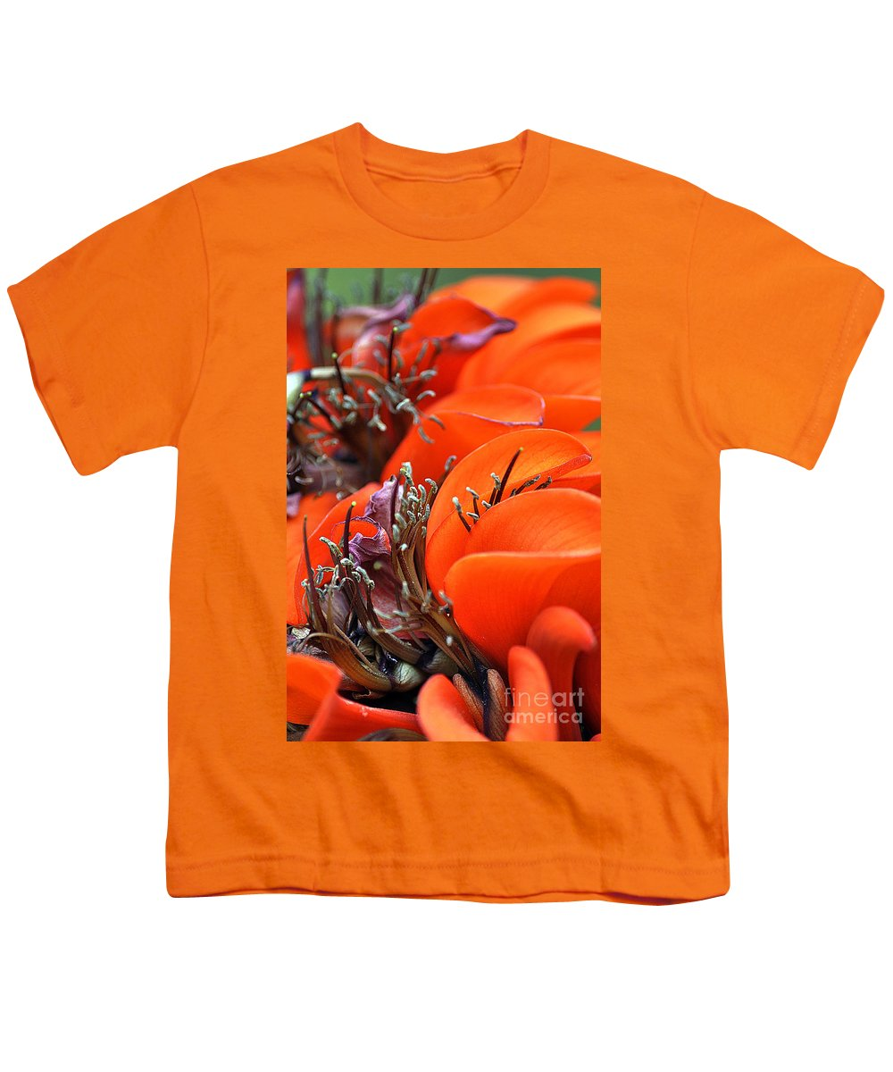 Clay Youth T-Shirt featuring the photograph Orange by Clayton Bruster