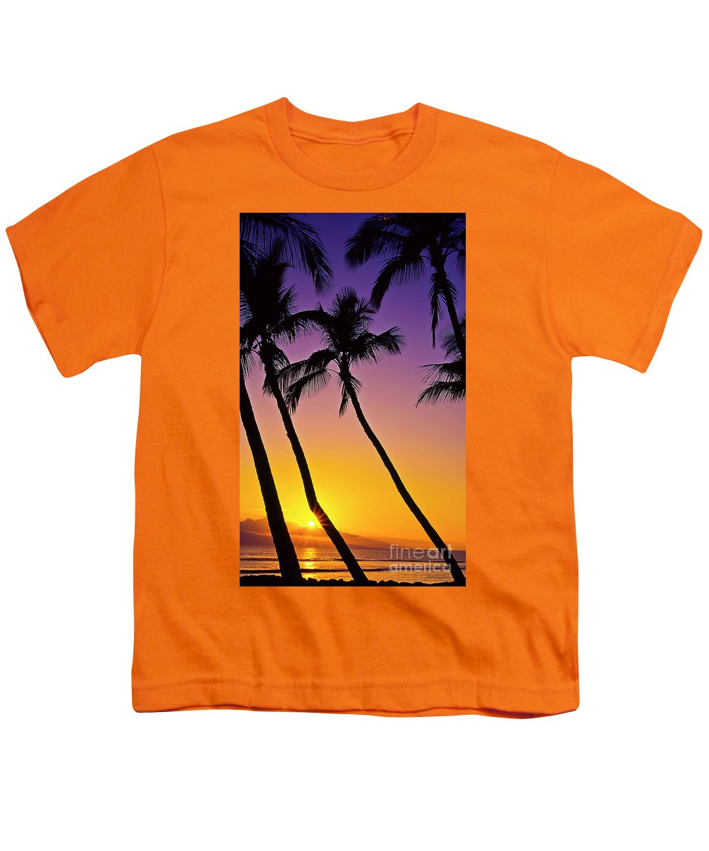 Sunset Youth T-Shirt featuring the photograph Paradise by Jim Cazel