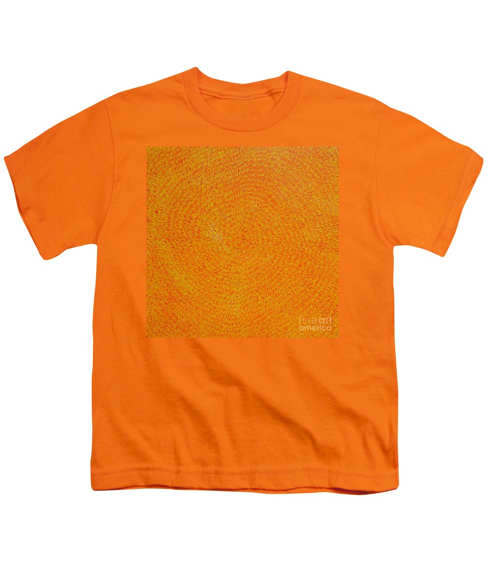Abstract Youth T-Shirt featuring the painting Su Gaia by Dean Triolo