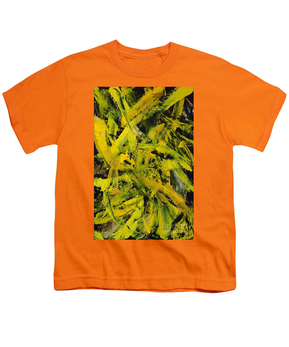 Abstract Youth T-Shirt featuring the painting Transitions Vi by Dean Triolo