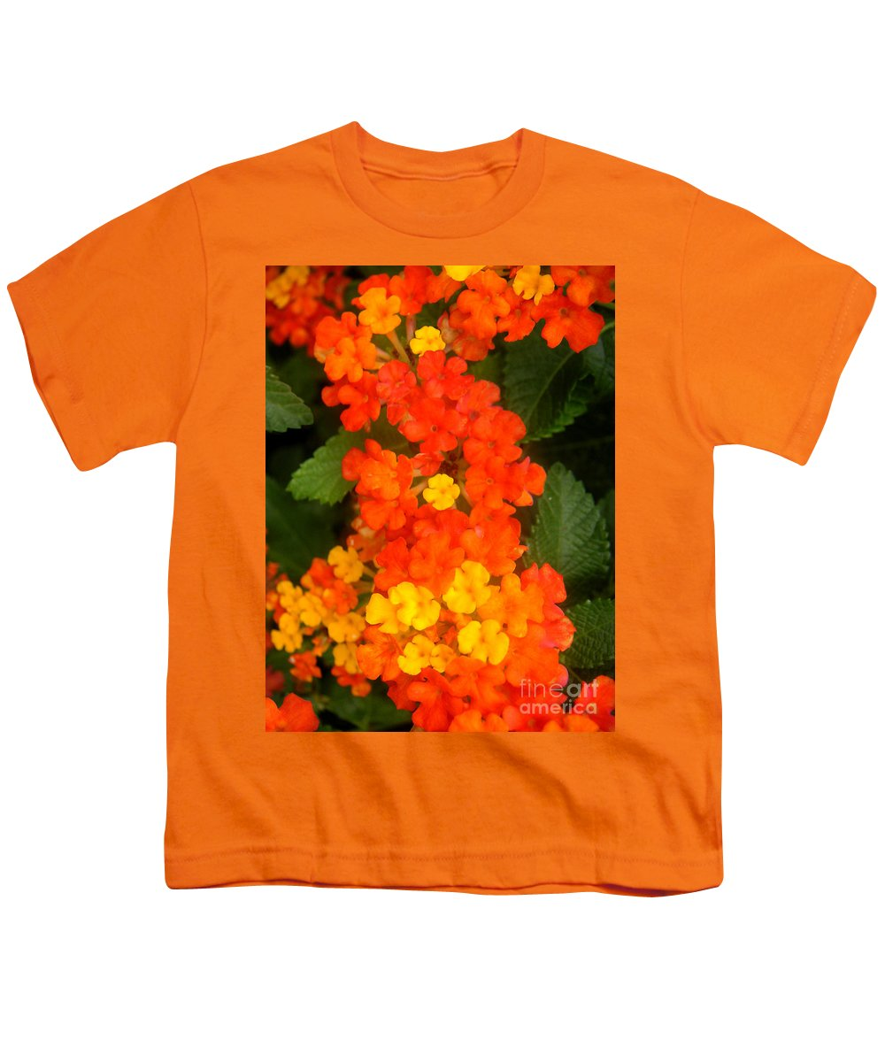 Nature Youth T-Shirt featuring the photograph Volcanic Display by Lucyna A M Green