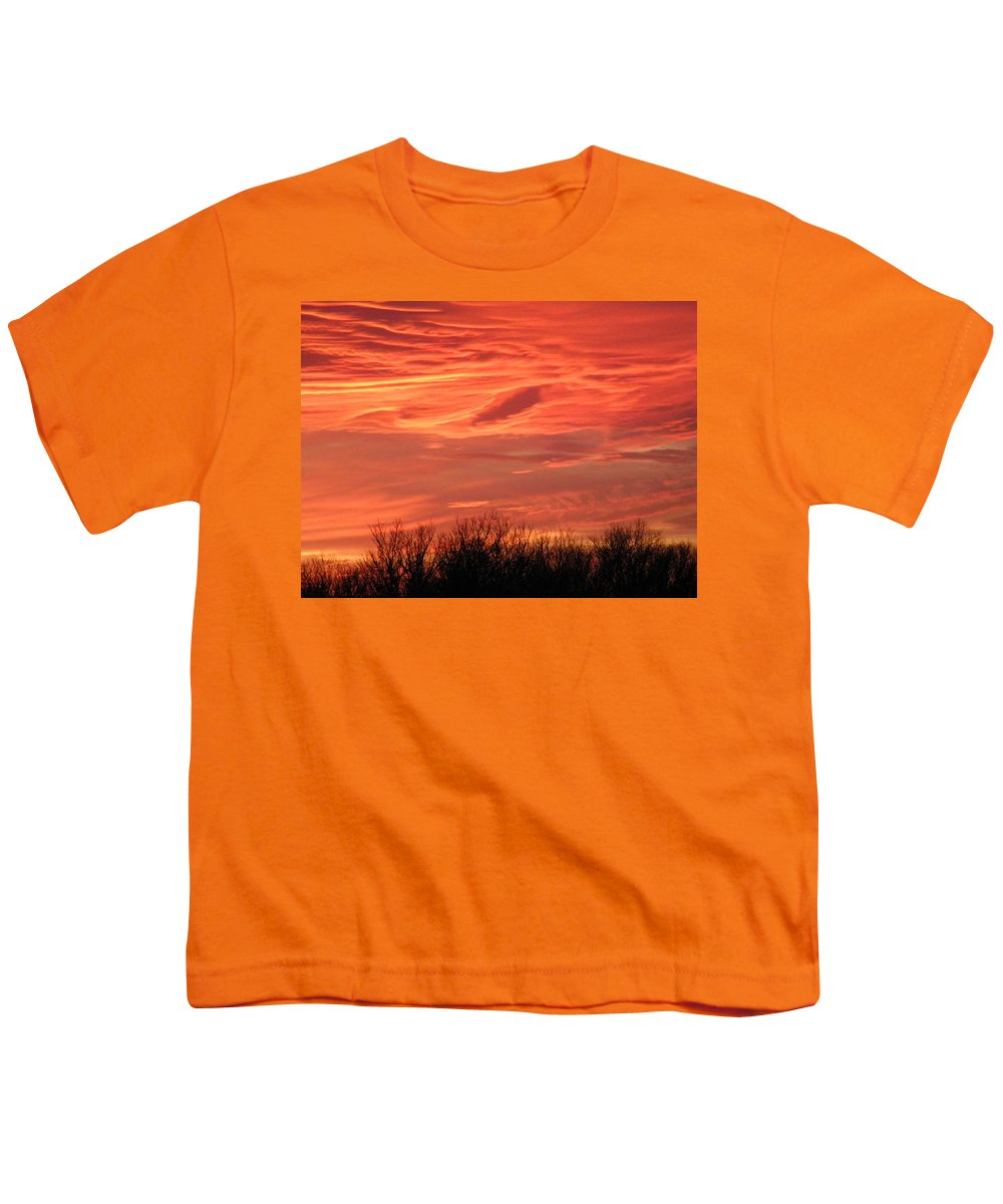 Sunset Youth T-Shirt featuring the photograph Who Needs Jupiter by Gale Cochran-Smith