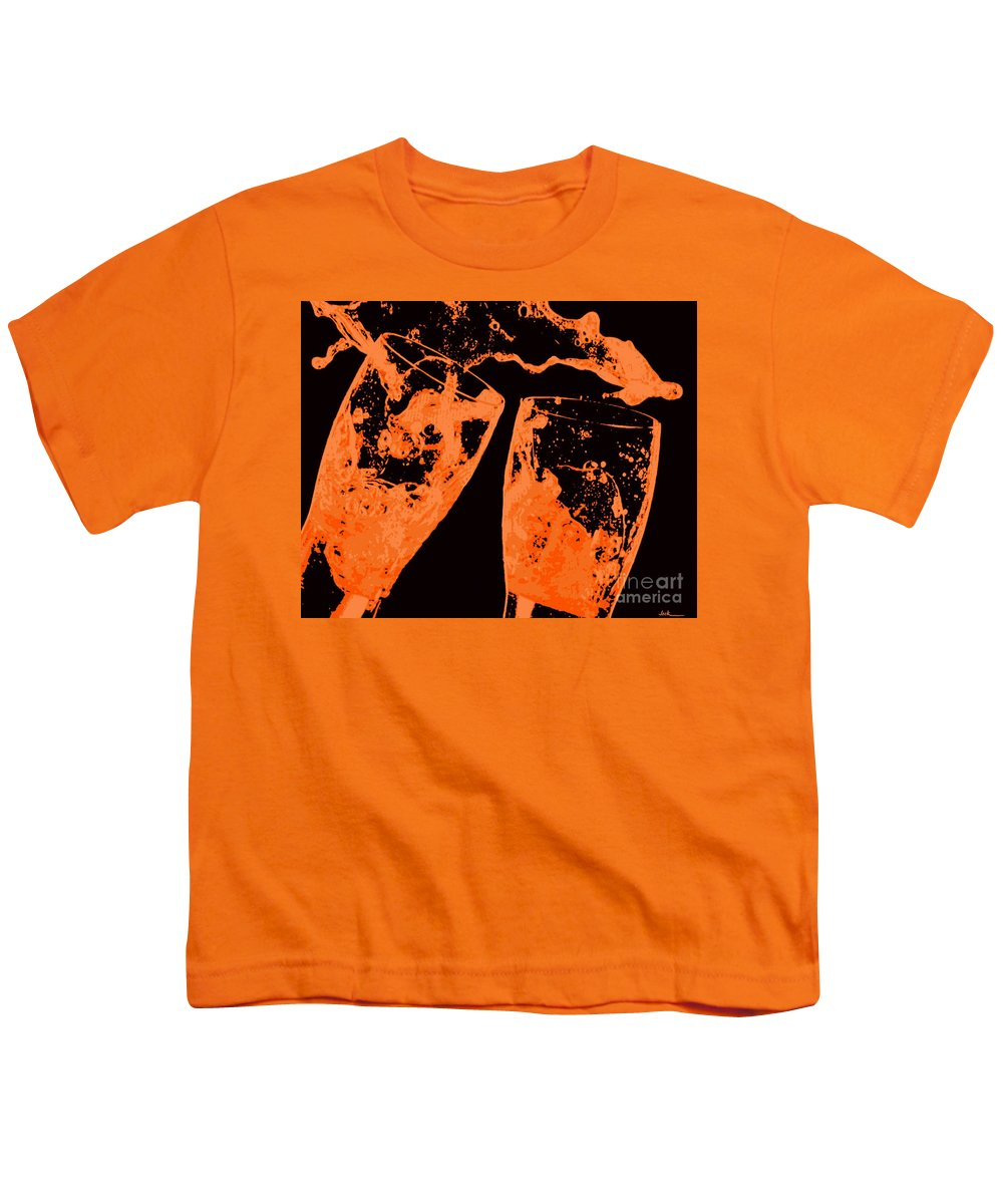 Splash Youth T-Shirt featuring the painting Saturday Suds by Jack Bunds
