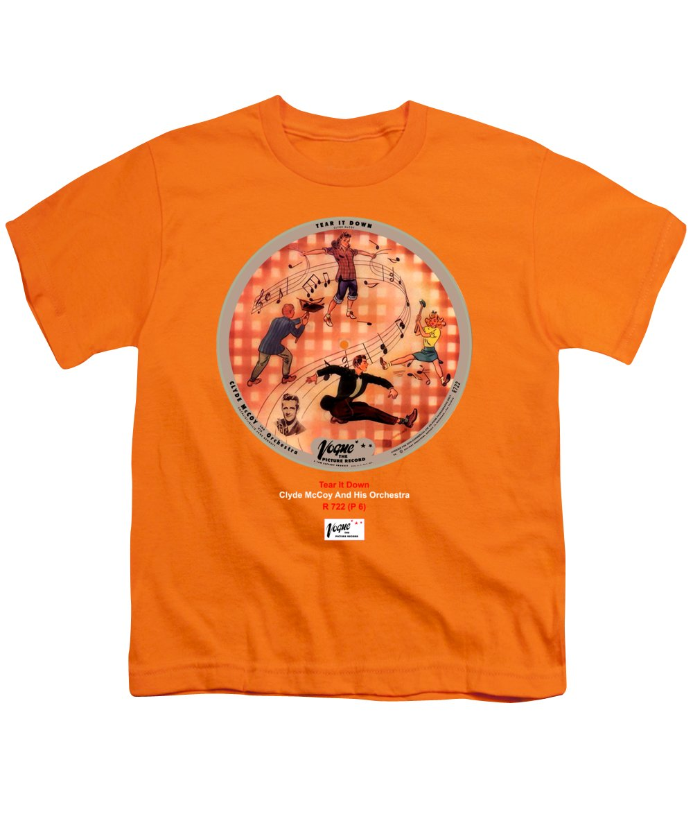 Vogue Picture Record Youth T-Shirt featuring the digital art Vogue Record Art - R 722 - P 6 by John Robert Beck