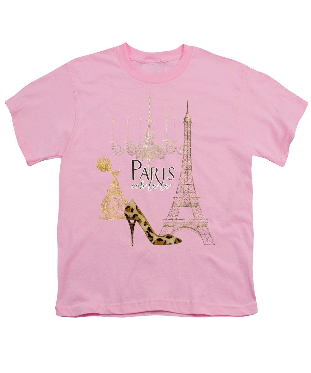 Eiffel Tower Youth T-Shirts