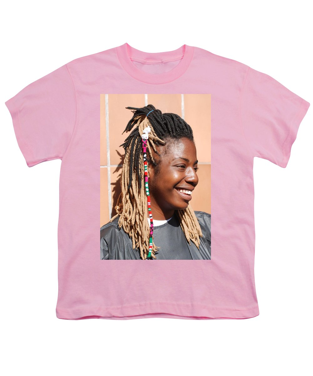 People Youth T-Shirt featuring the photograph Braided Lady by Rob Hans