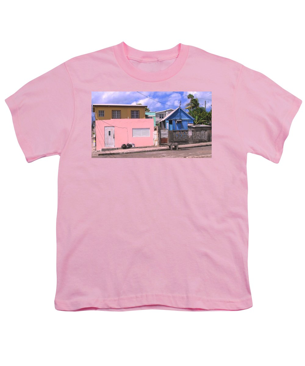 Basseterre Youth T-Shirt featuring the photograph Far From Dull by Ian MacDonald