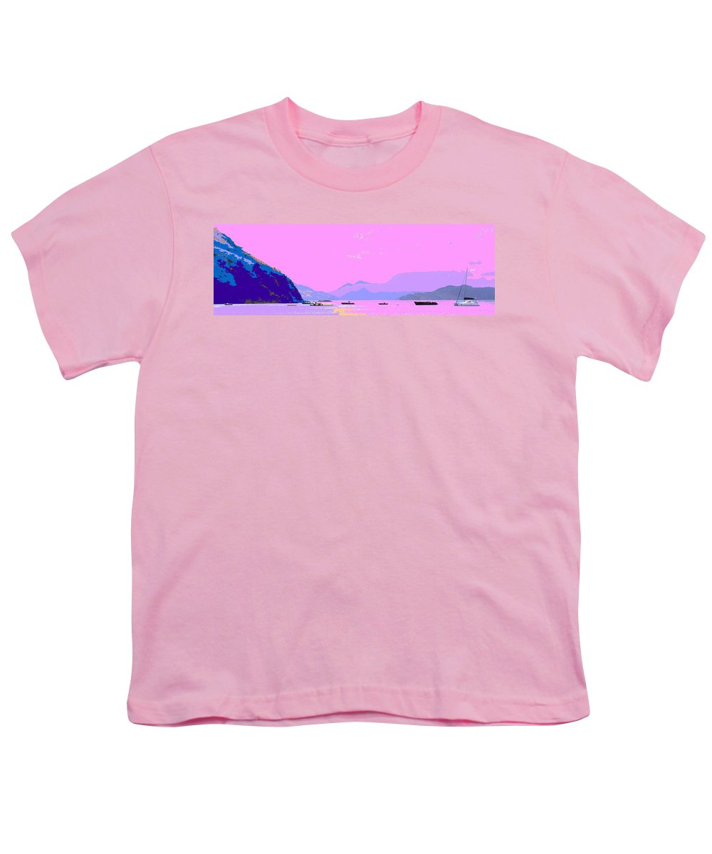 Frigate Youth T-Shirt featuring the photograph Frigate Bay Morning by Ian MacDonald