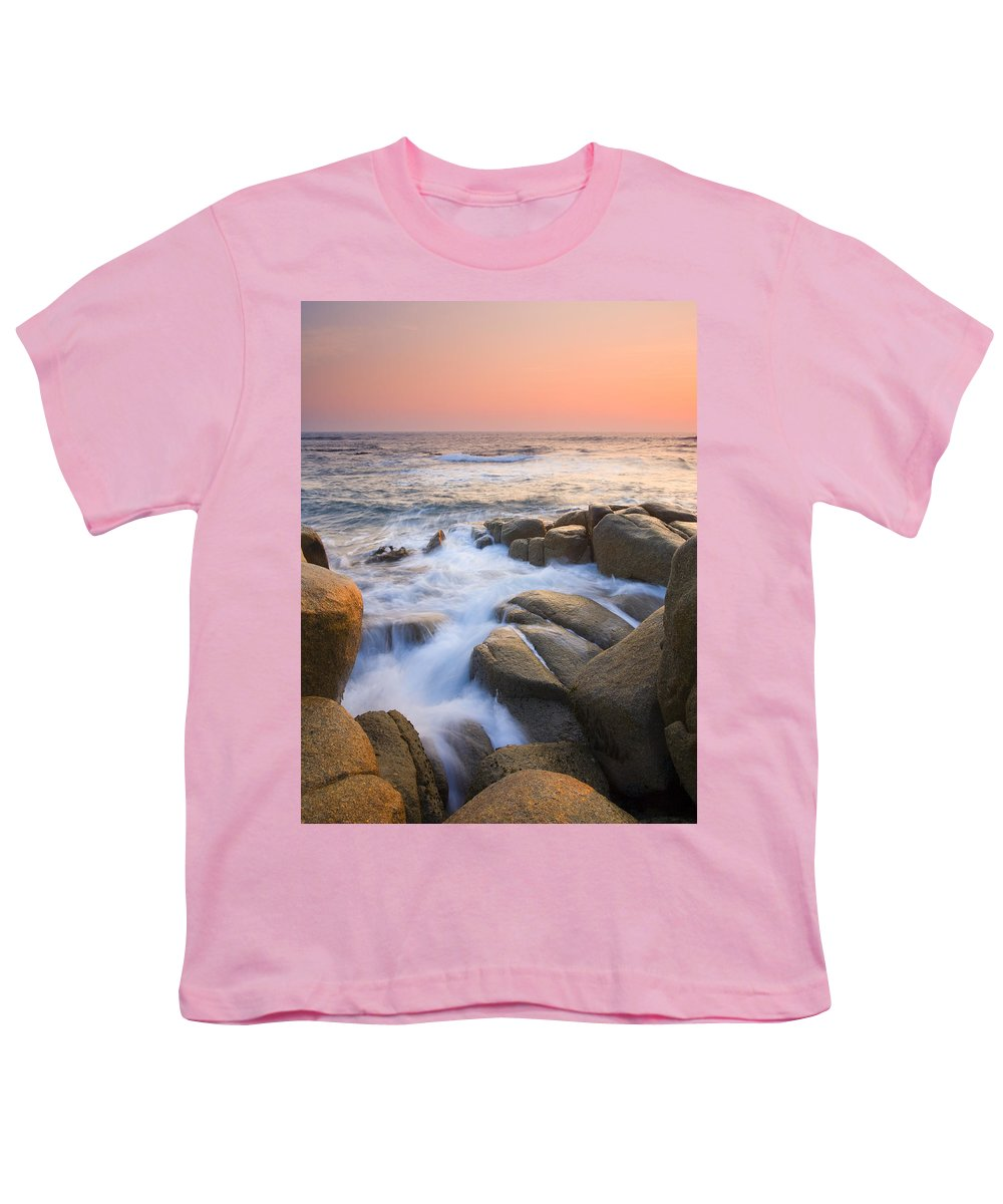 Sunrise Youth T-Shirt featuring the photograph Red Sky At Morning by Mike Dawson
