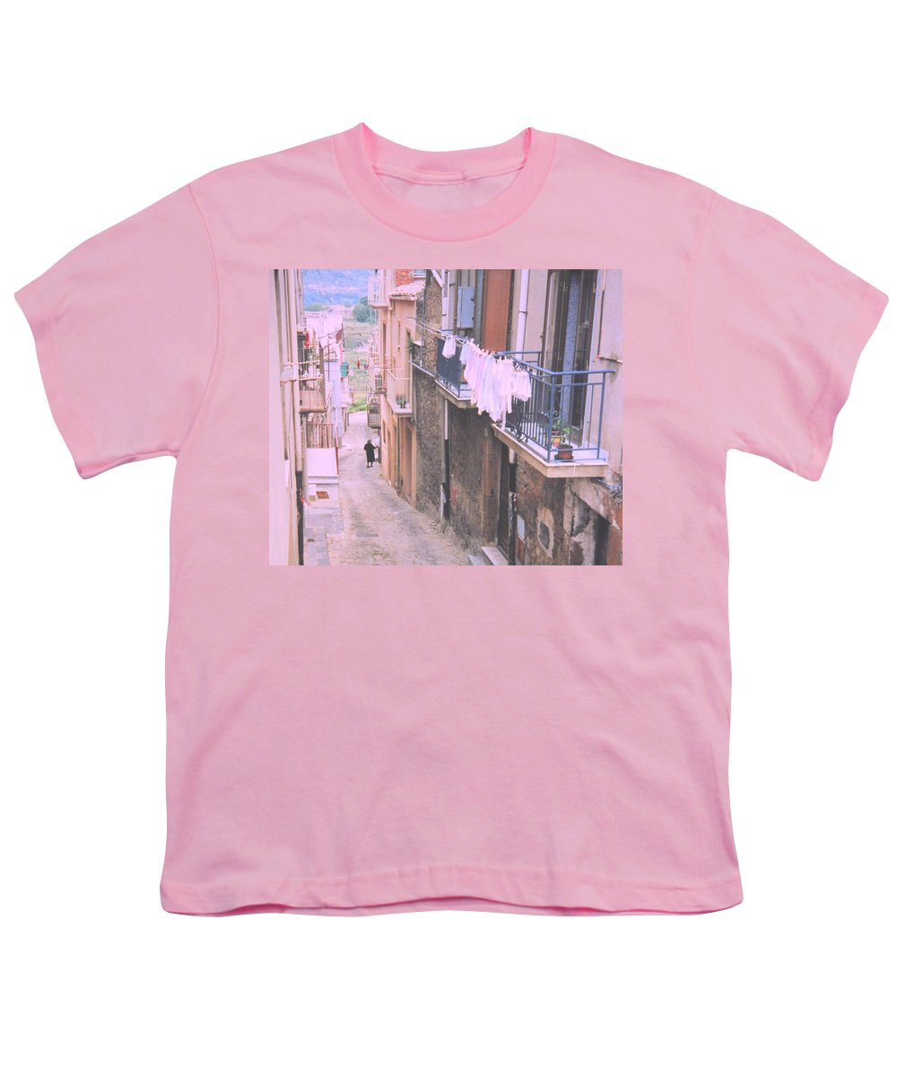 Sicily Youth T-Shirt featuring the photograph Sicily by Ian MacDonald