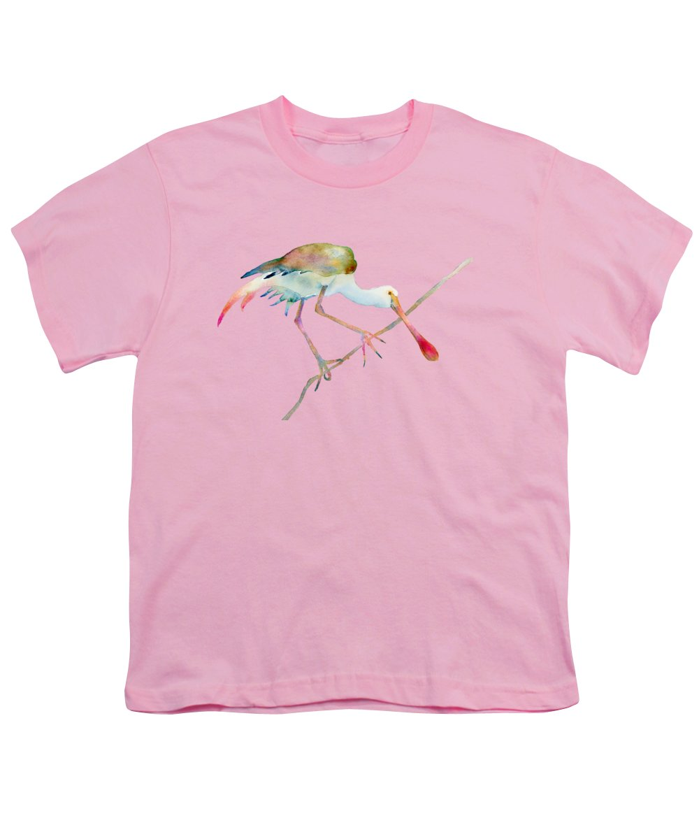 Spoonbill Youth T-Shirts