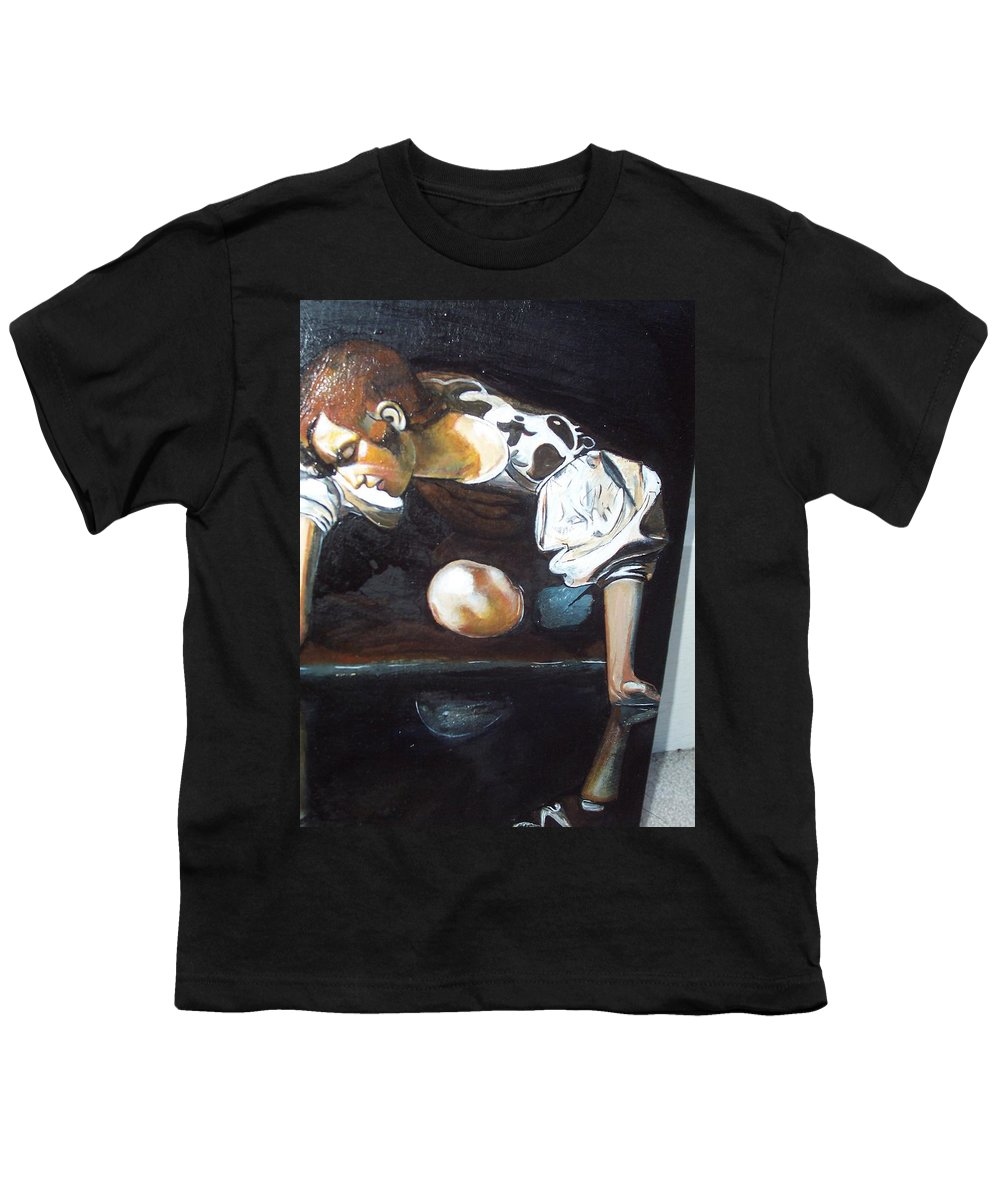 Youth T-Shirt featuring the painting Detail by Jude Darrien