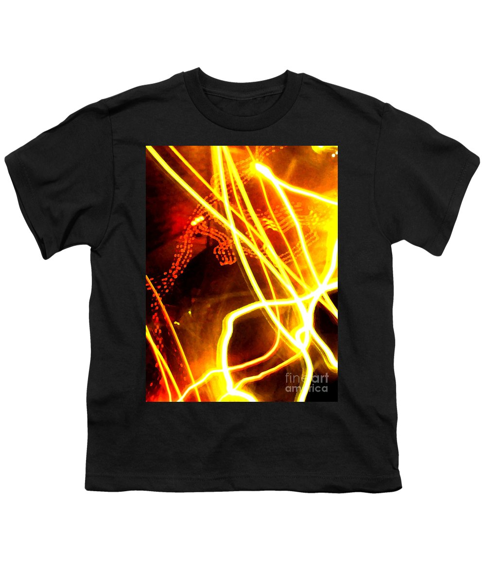 Abstract Youth T-Shirt featuring the photograph Abstract by Amanda Barcon