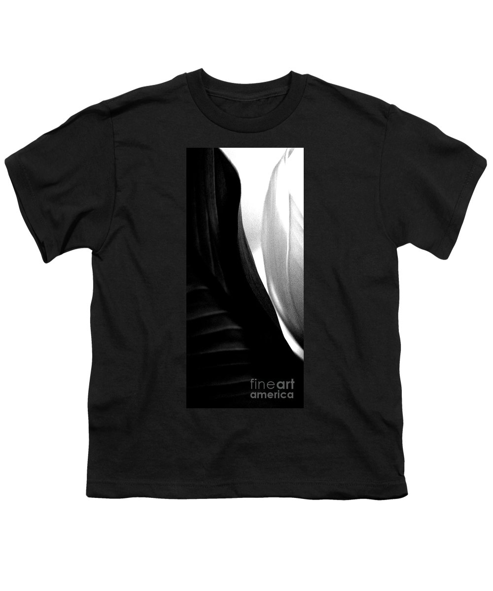 black And White Prints Youth T-Shirt featuring the photograph Balance by Amanda Barcon