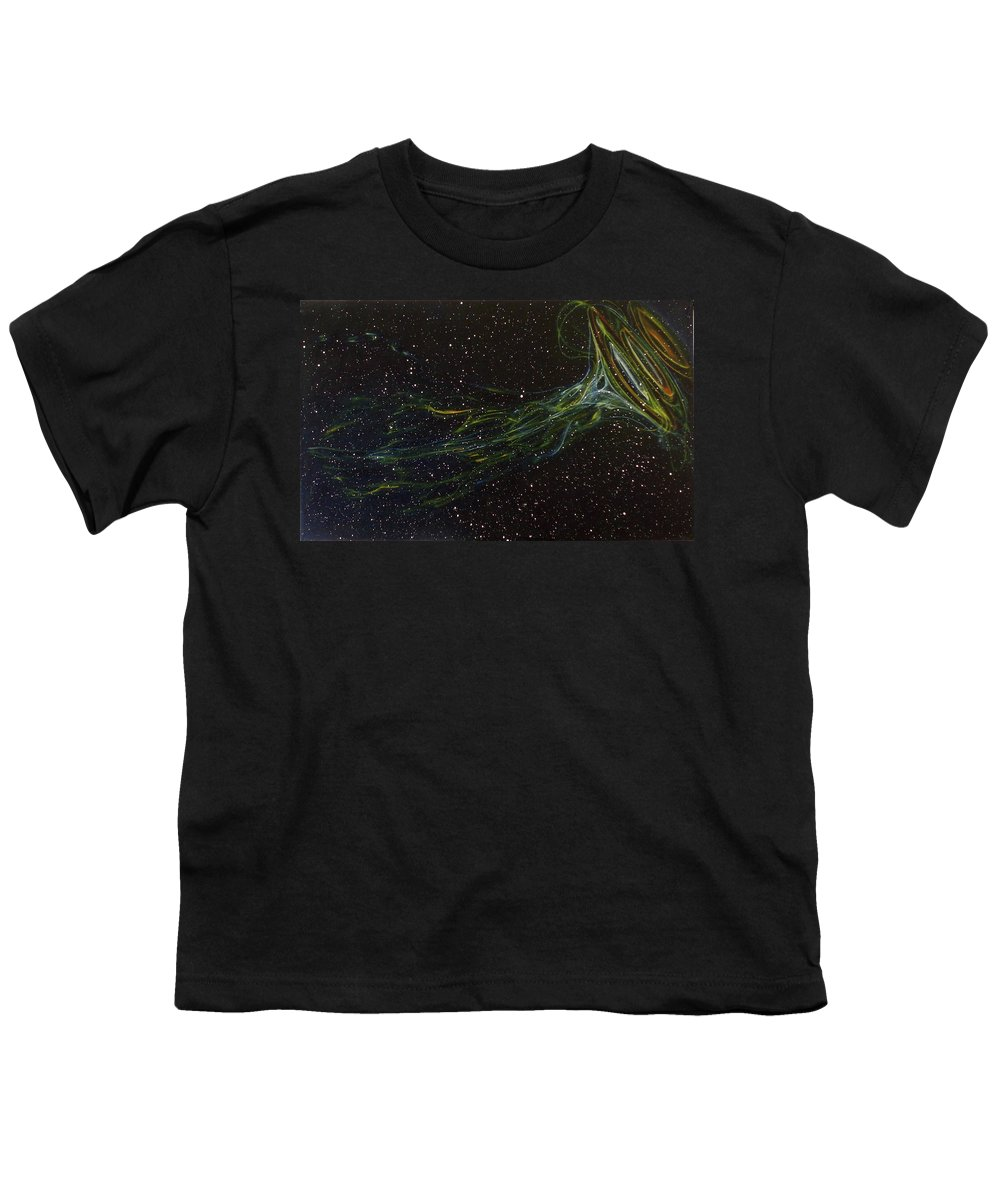 Abstract Youth T-Shirt featuring the painting Death Throes by Sean Connolly