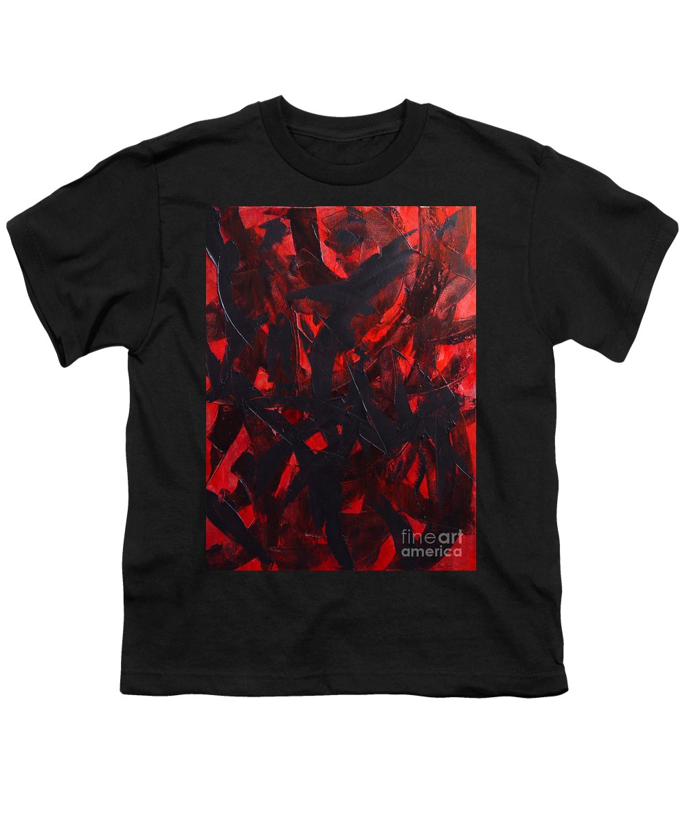 Abstract Youth T-Shirt featuring the painting Good Bye by Dean Triolo
