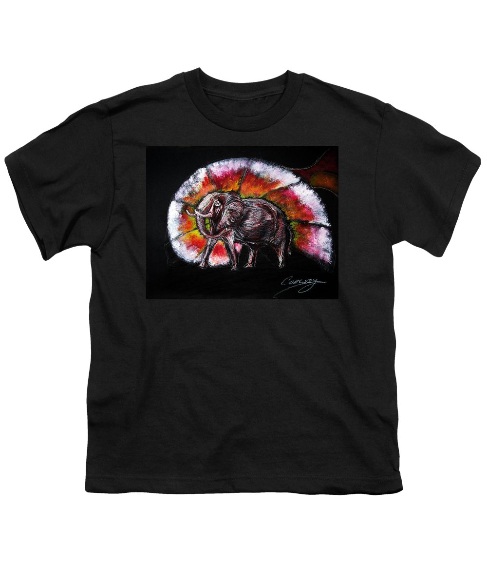 Wild Youth T-Shirt featuring the drawing Grand Designs For Life On Earth by Tom Conway