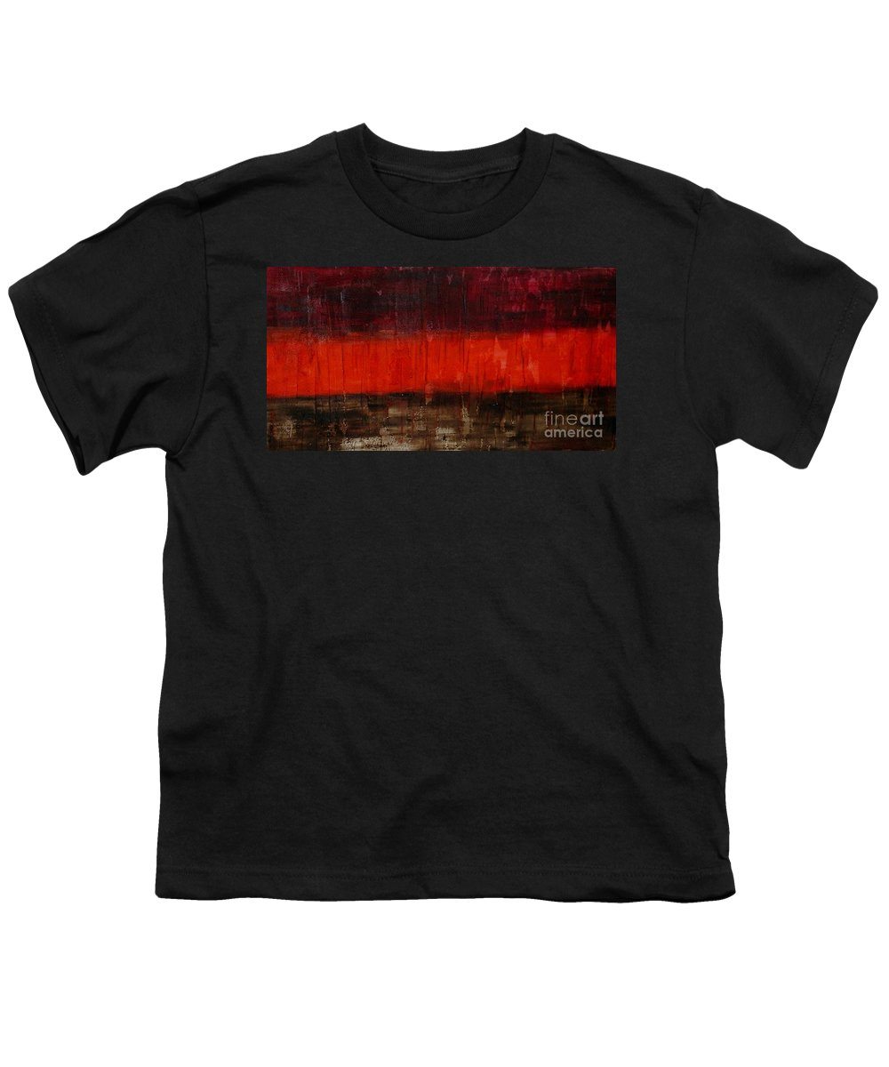 Abstract Youth T-Shirt featuring the painting High Energy by Silvana Abel