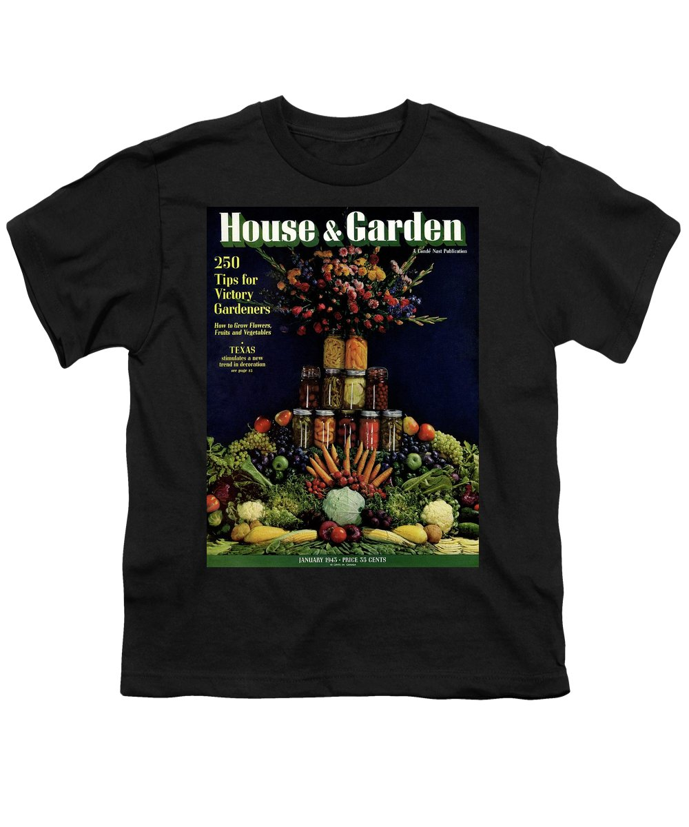 House And Garden Youth T-Shirt featuring the photograph House And Garden Cover Featuring Fruit by Fredrich Baker