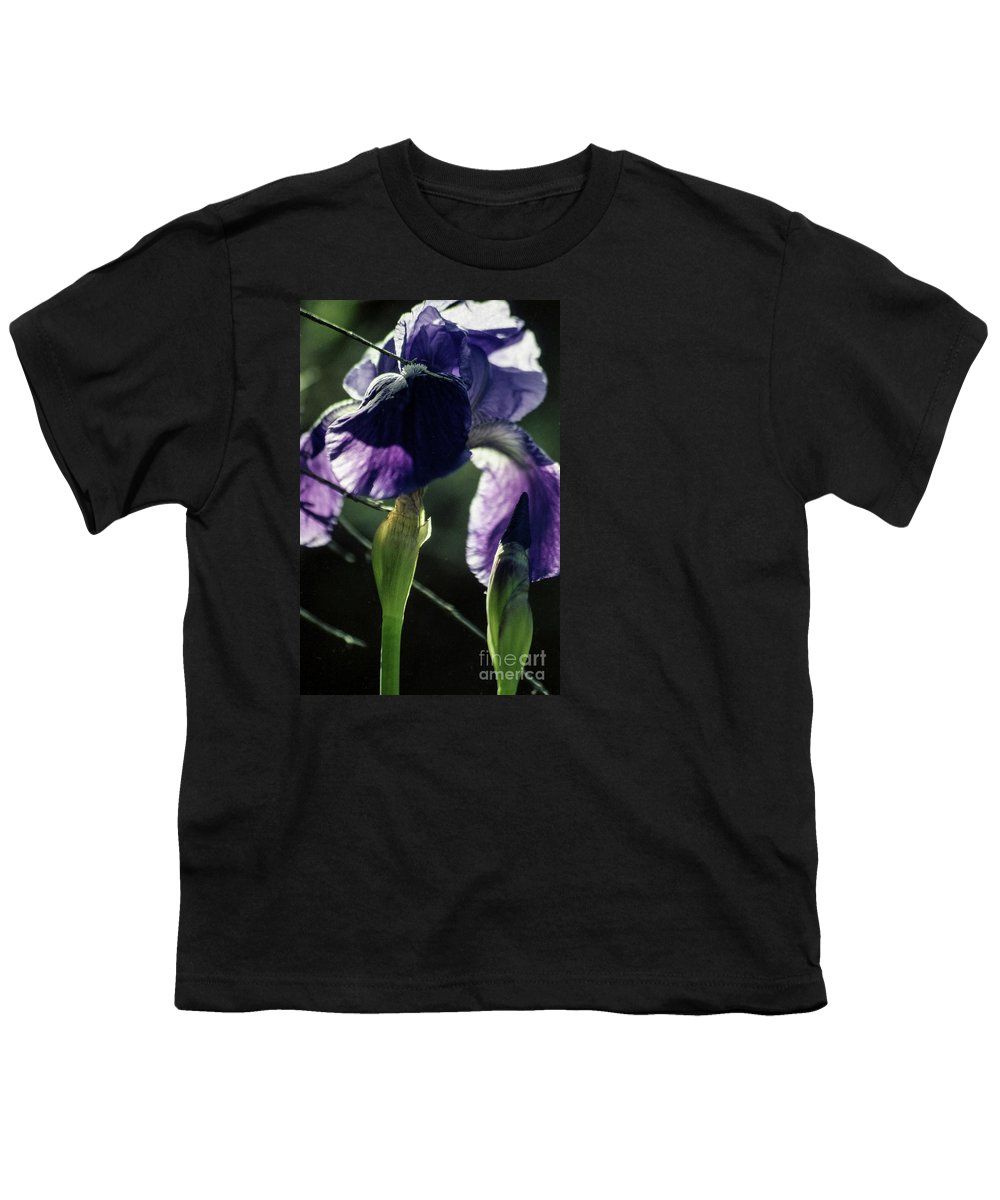Flowers Youth T-Shirt featuring the photograph Spring's Gift by Kathy McClure