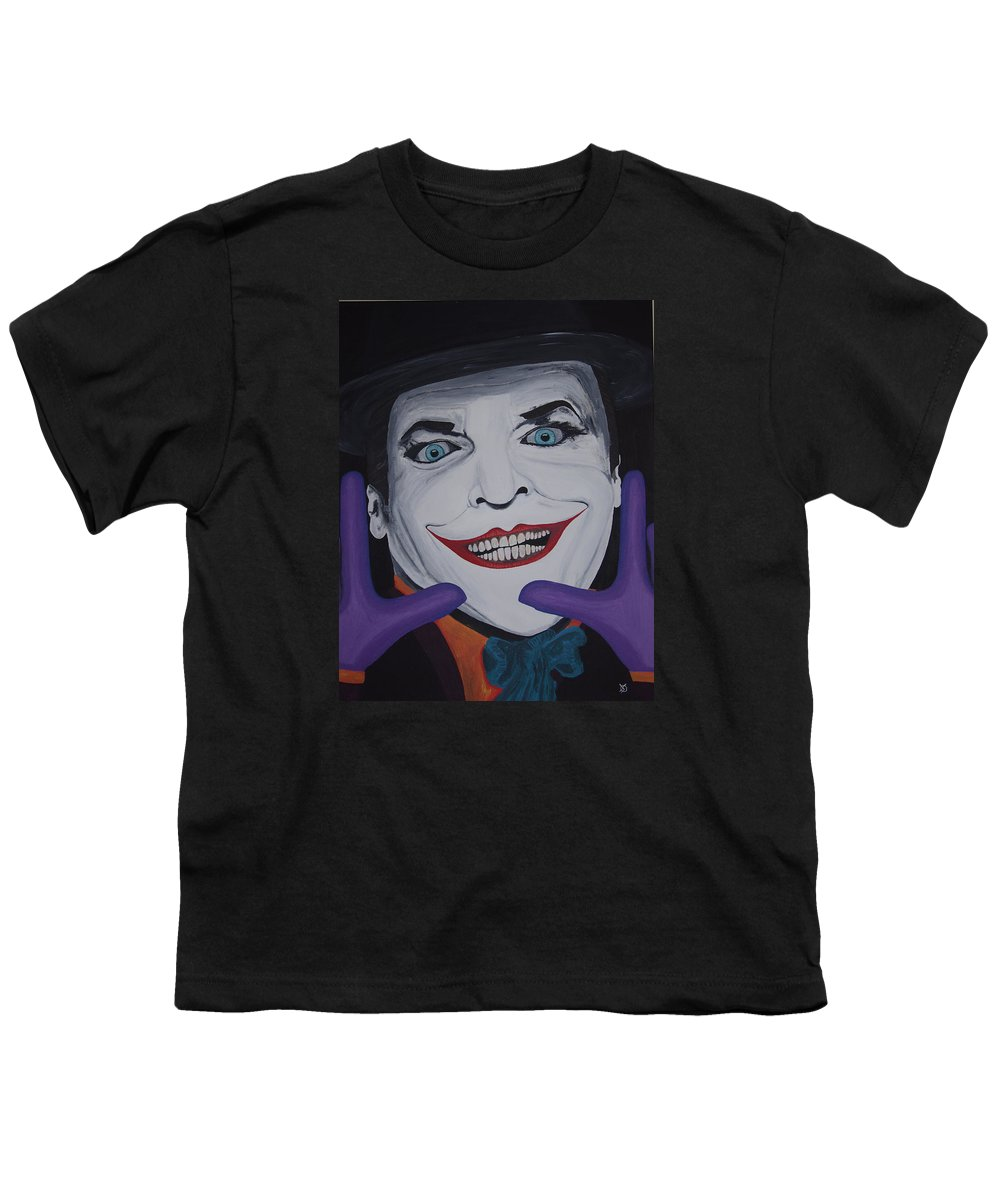 Colorful Youth T-Shirt featuring the painting Just Jack by Dean Stephens