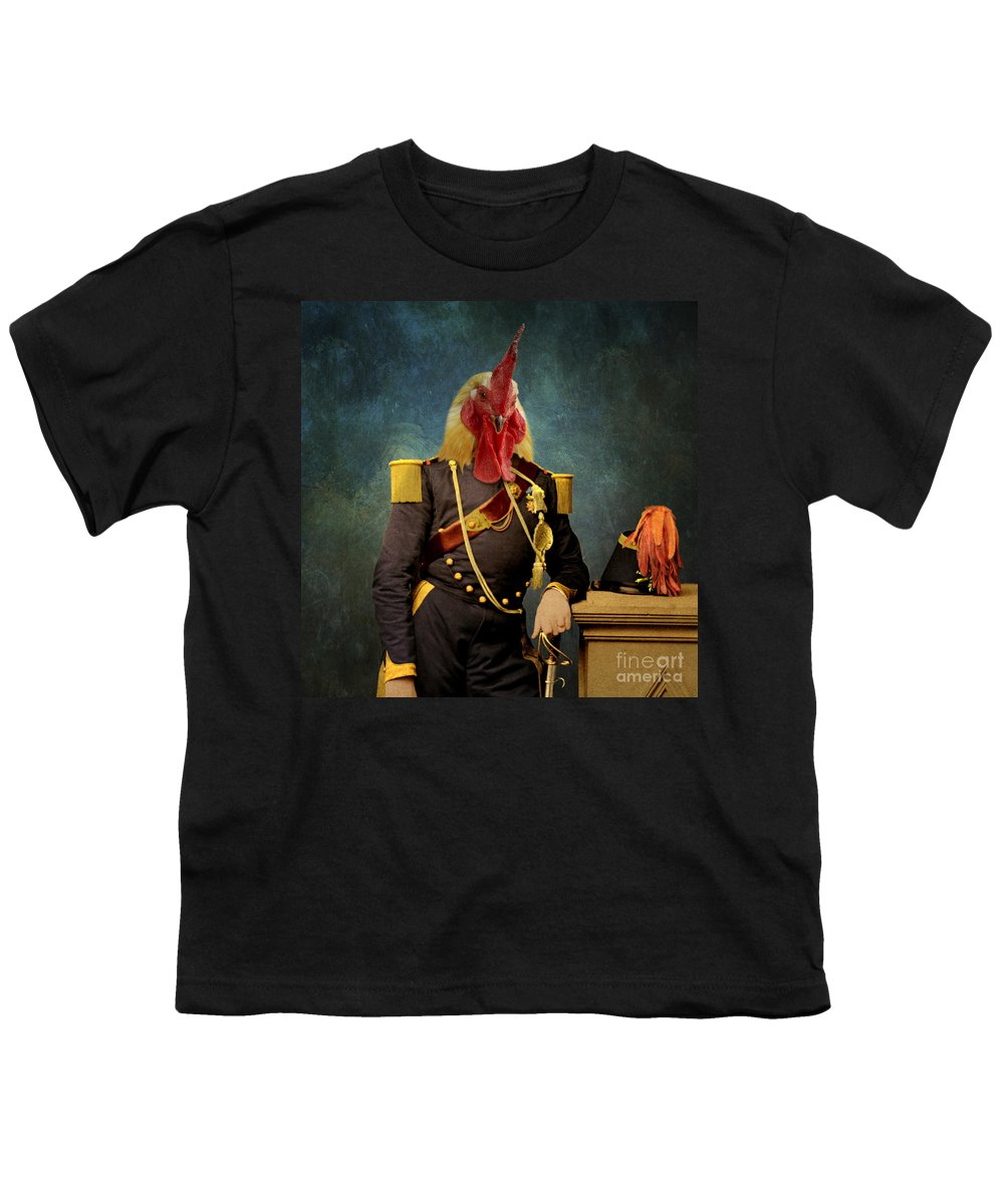 Youth T-Shirt featuring the photograph Le General by Martine Roch