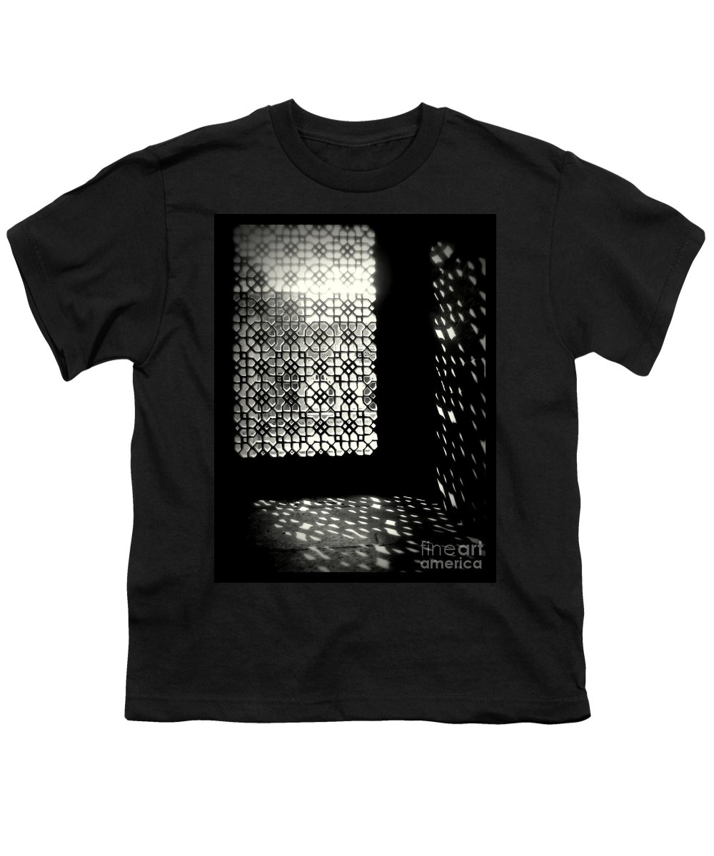 Light And Shadows Youth T-Shirt featuring the photograph Light And Shadows by Prajakta P