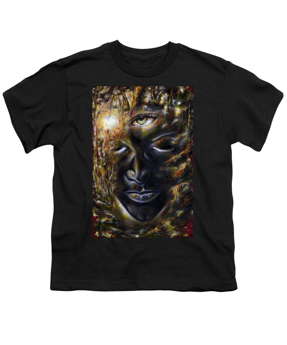Eye Youth T-Shirt featuring the painting Revelation by Hiroko Sakai