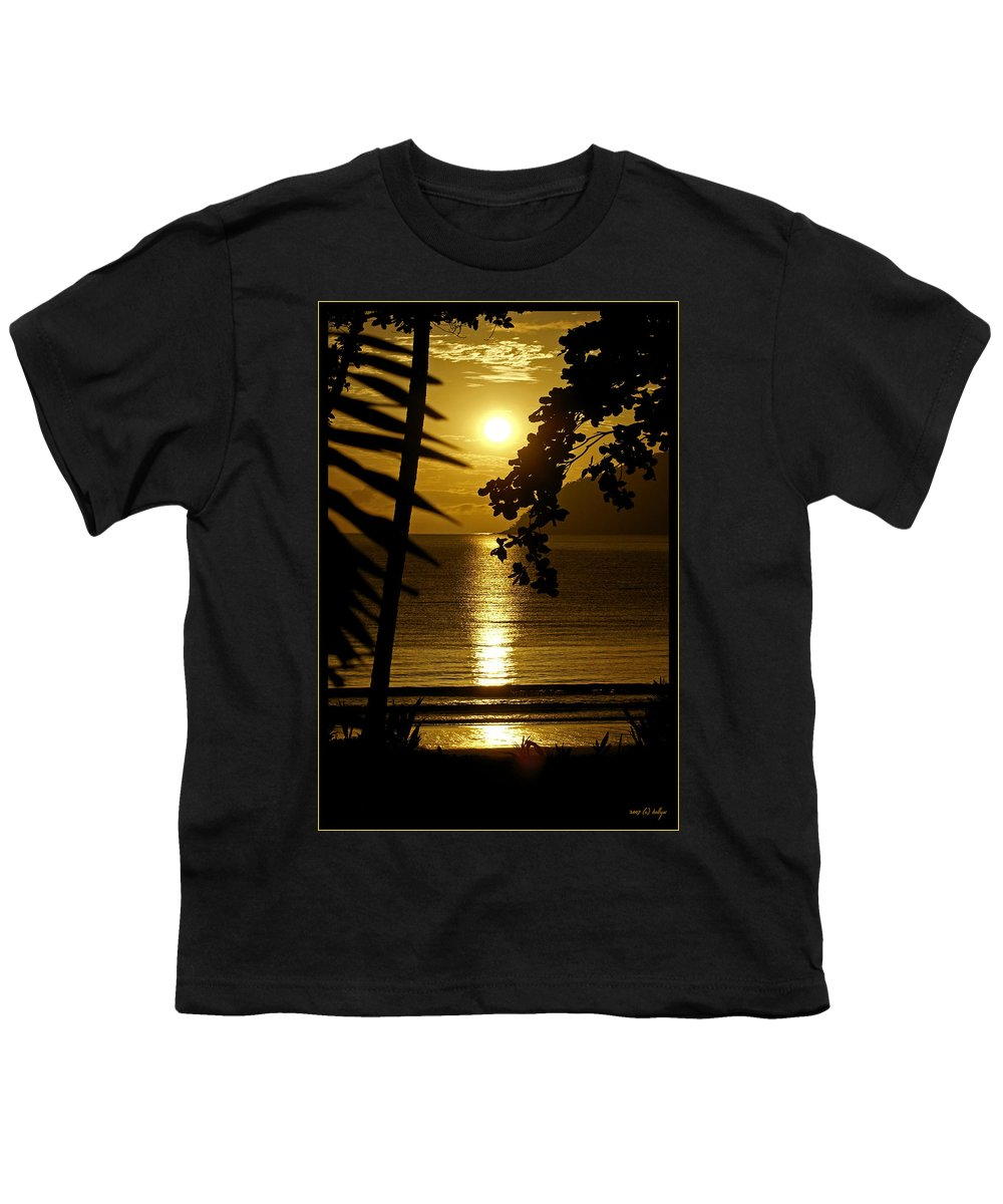 Landscapes Youth T-Shirt featuring the photograph Shimmer by Holly Kempe