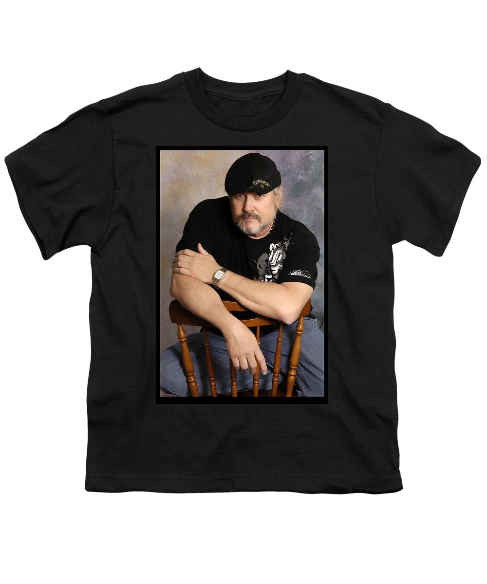 Clay Youth T-Shirt featuring the photograph The Artist by Clayton Bruster