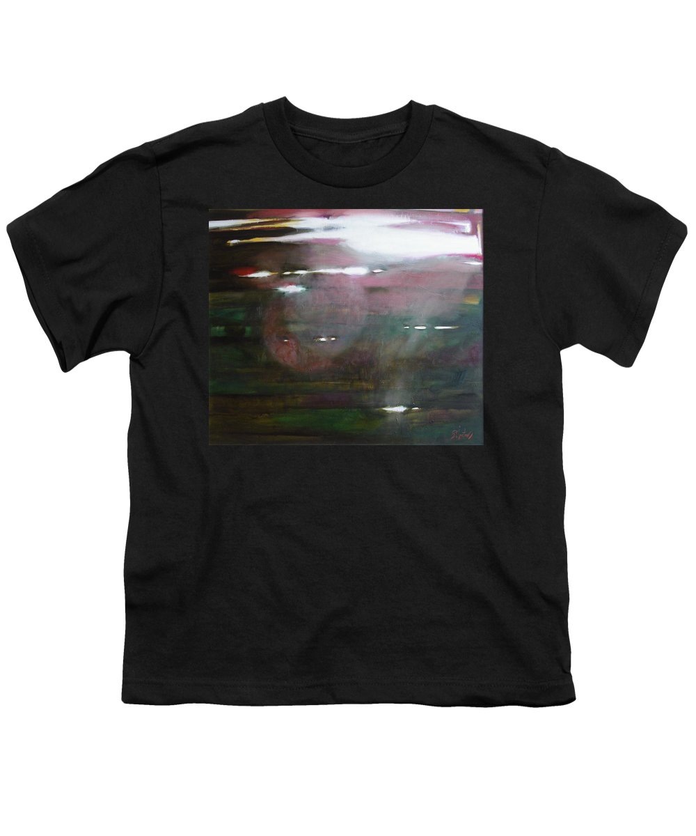 Oil Youth T-Shirt featuring the painting The Parallel World by Sergey Ignatenko