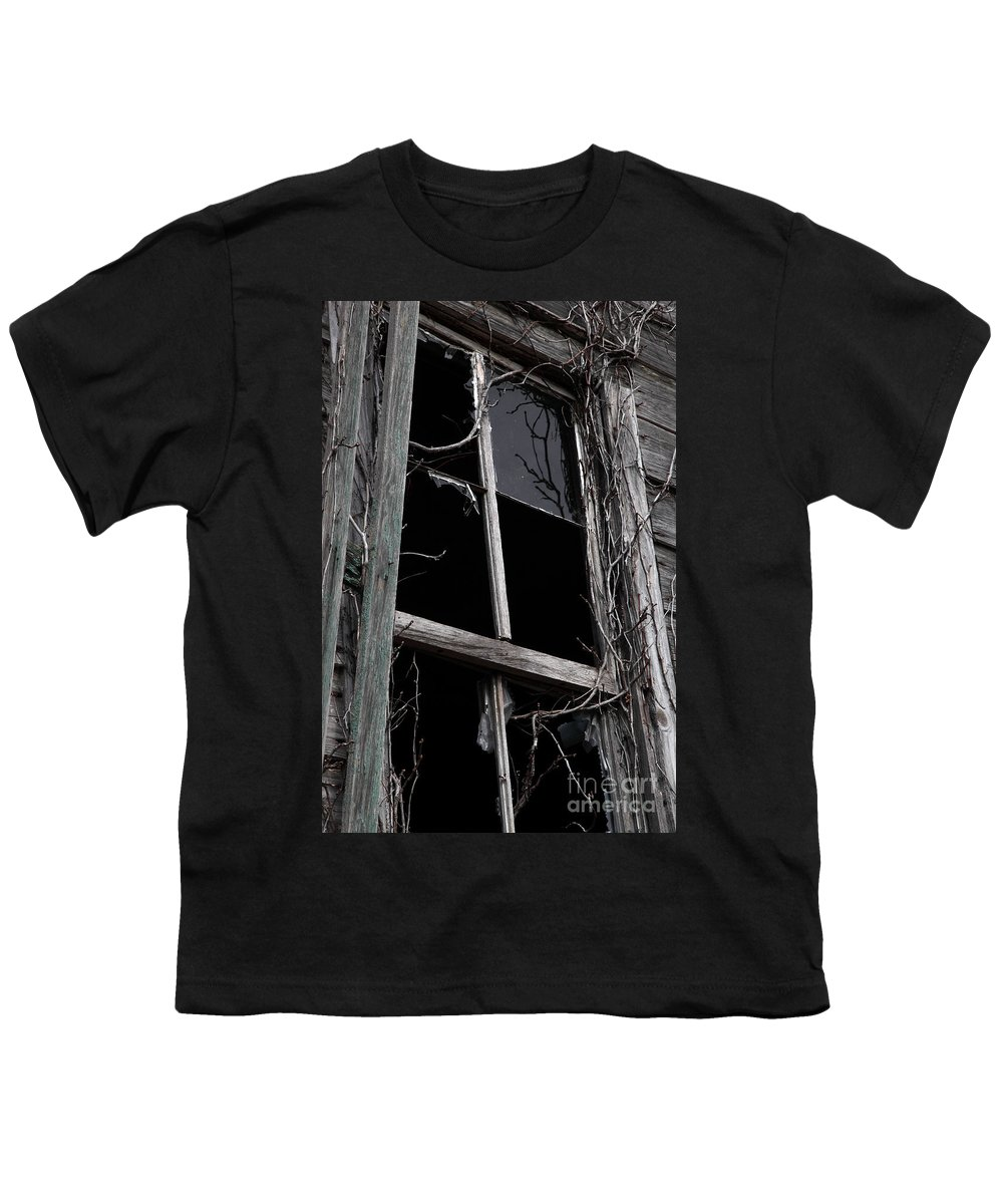 Windows Youth T-Shirt featuring the photograph Window by Amanda Barcon